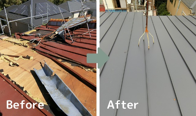屋根リフォームの種類